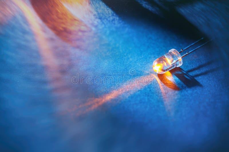 Ampoule aboutie photo libre de droits