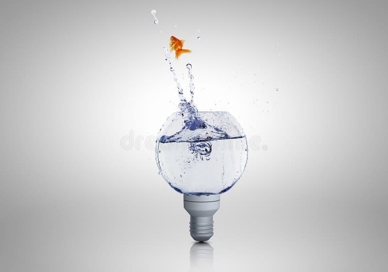 Download Ampoule avec de l'eau photo stock. Image du liquide, graphisme - 56480512
