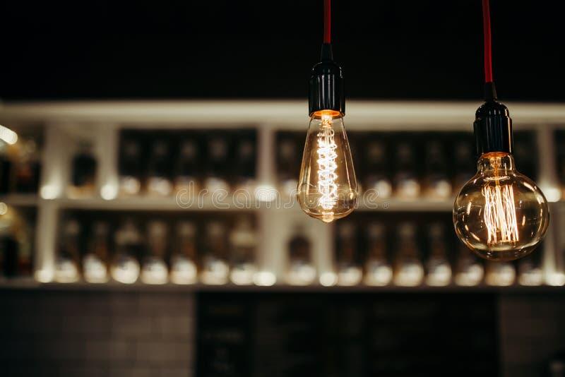 Ampoule d'art image stock