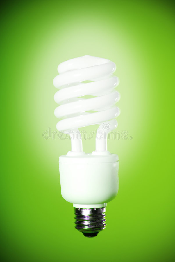 Ampoule d'Eco photo stock
