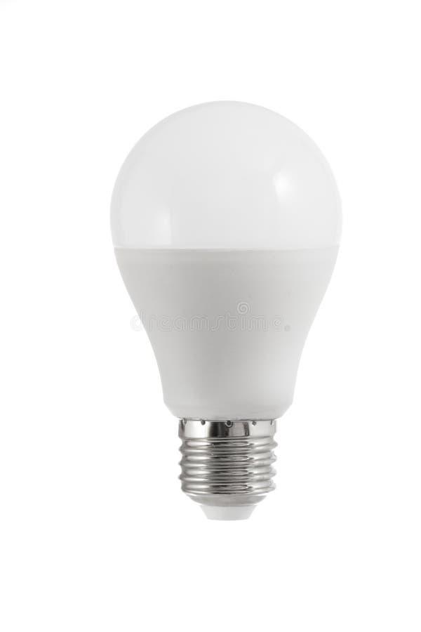 Ampoule d'isolement de compagnon sur le fond blanc photo stock