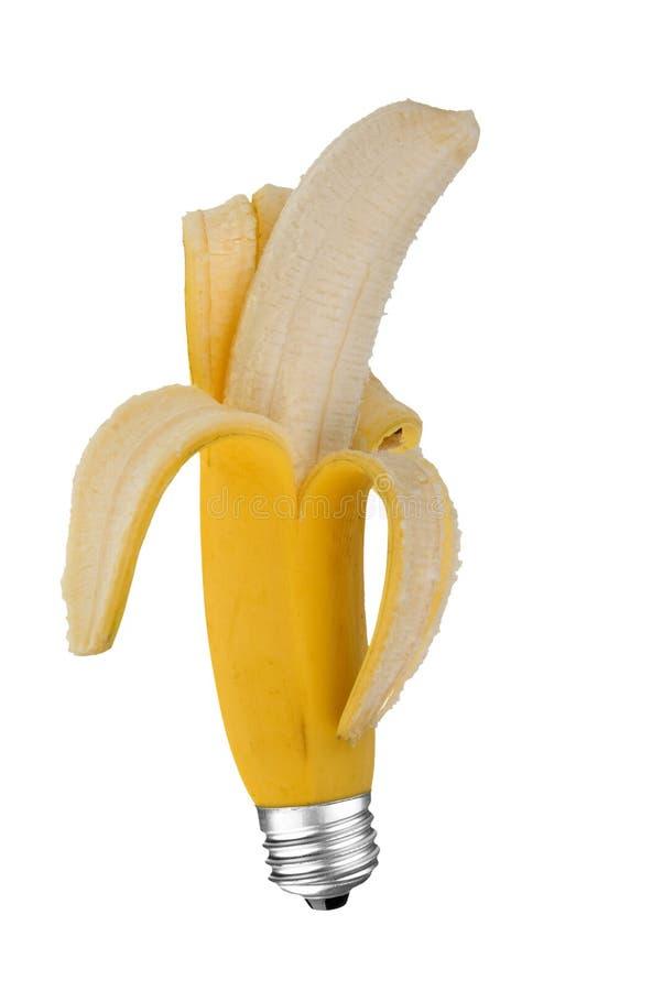 Ampoule de banane image libre de droits