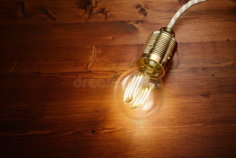 Ampoule de classique de filament de LED photos libres de droits