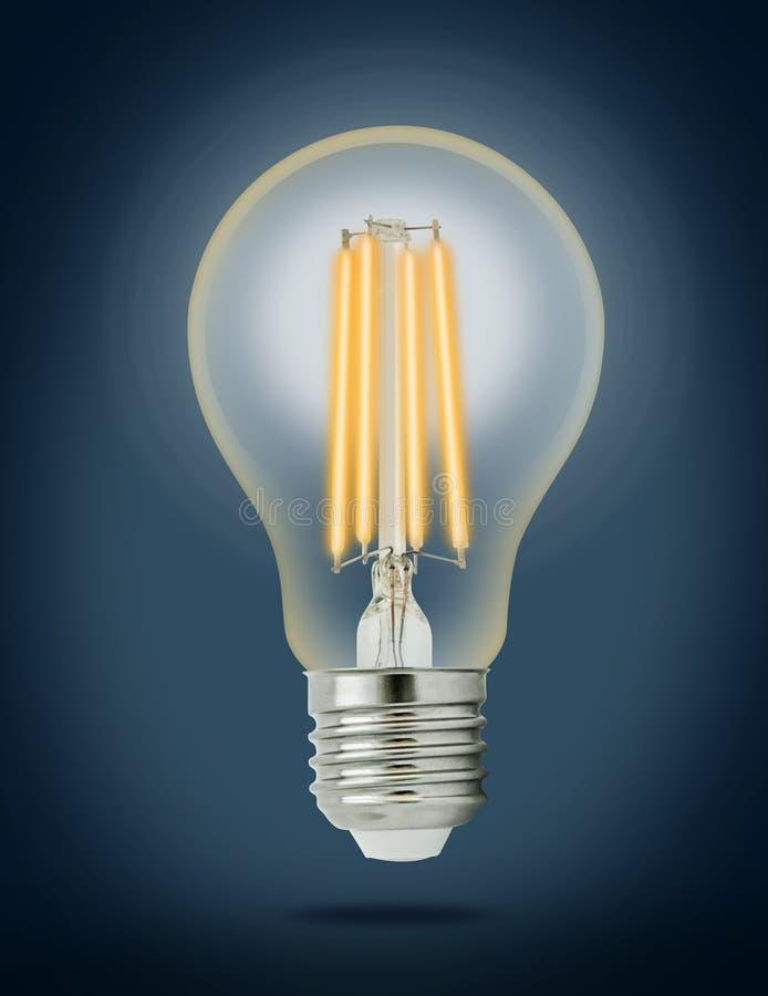 Ampoule de filament de LED (E27) photos libres de droits