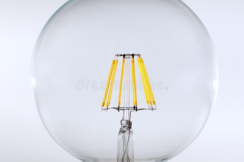 Ampoule de filament de LED (E27) image libre de droits