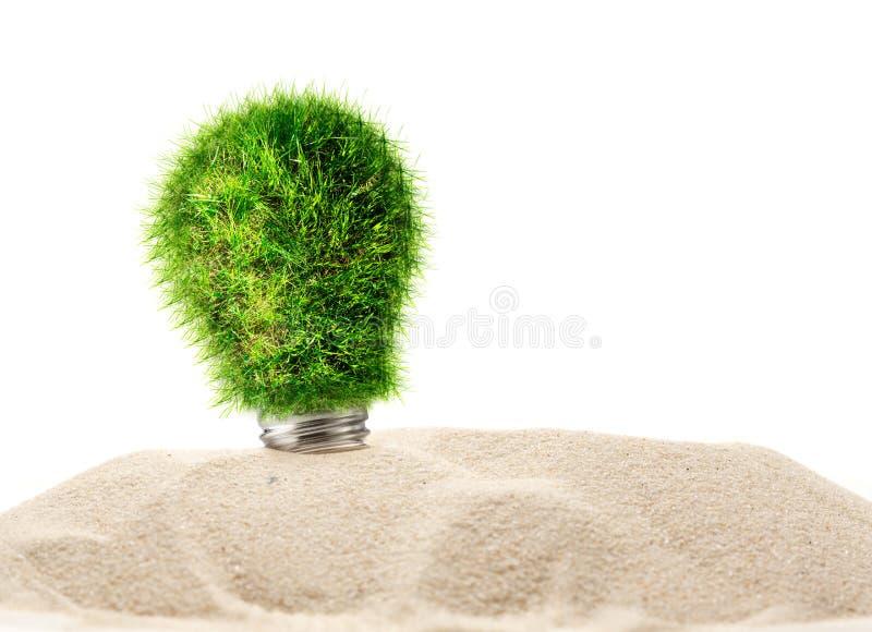 Download Ampoule De Lampe Faite En Herbe Verte Illustration Stock - Illustration du vert, pouvoir: 76076670
