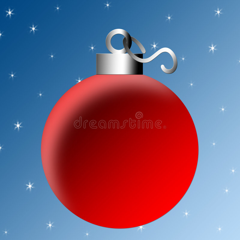 Ampoule de Noël illustration de vecteur