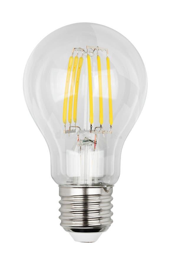 Ampoule du filament LED photographie stock