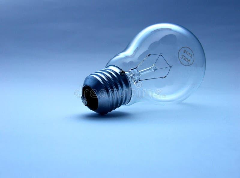 Ampoule en verre photographie stock