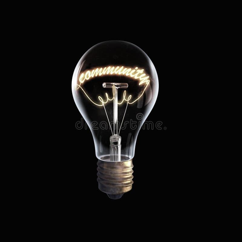 ampoule en verre sur le fond noir photo stock image du glace lumineux 71219926. Black Bedroom Furniture Sets. Home Design Ideas
