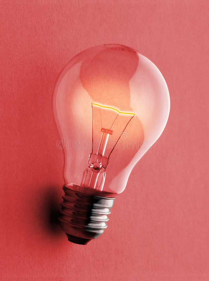Ampoule - Gluebirne illustration stock
