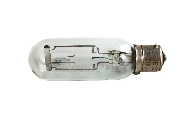 Ampoule incandescente pour le rétroprojecteur photos stock