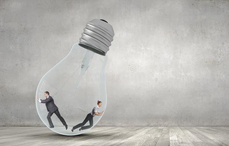 Ampoule intérieure photo libre de droits