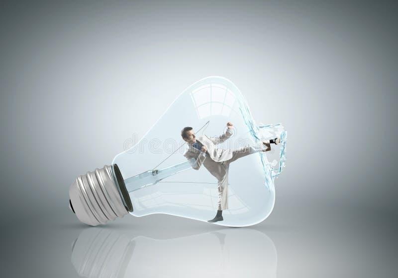 Ampoule intérieure photos libres de droits