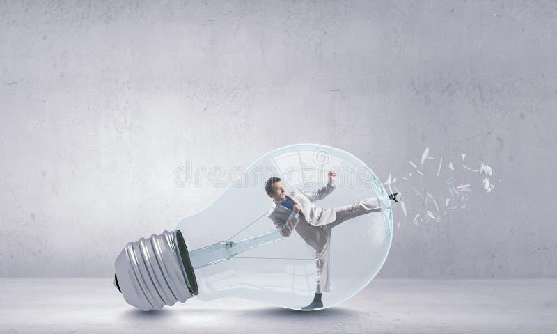 Ampoule intérieure images stock