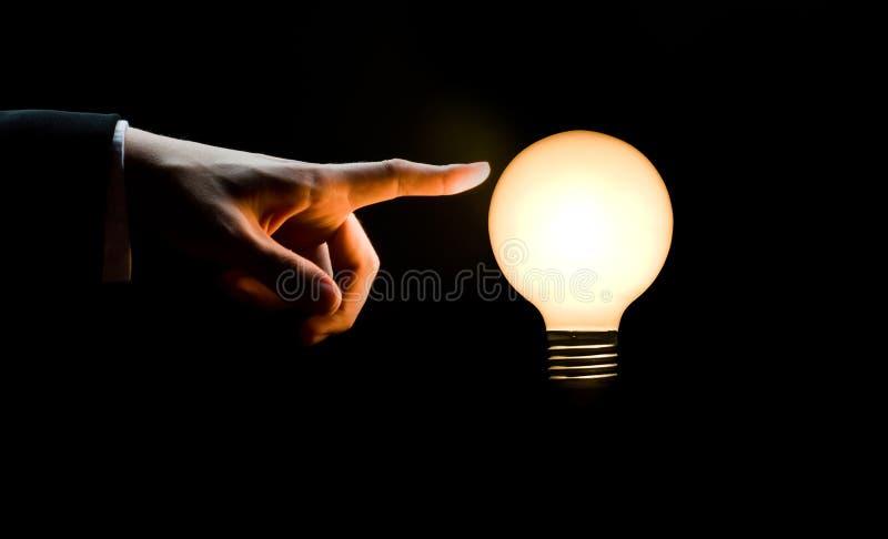 Ampoule lumineuse photos libres de droits