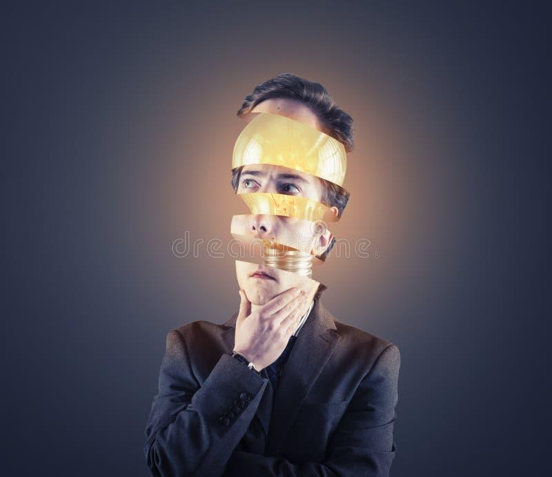 Ampoule principale découpée en tranches photo libre de droits