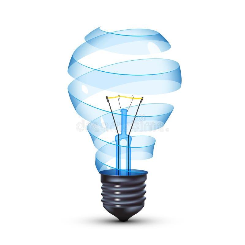 Ampoule surréaliste illustration libre de droits