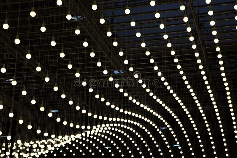 Ampoules électriques photos libres de droits