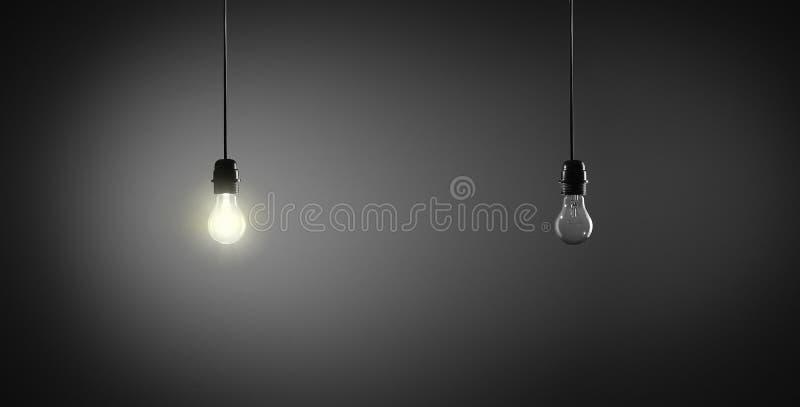 Ampoules photographie stock libre de droits