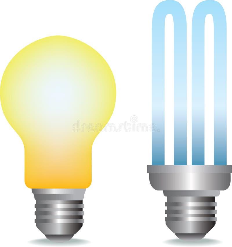 Ampoules illustration de vecteur