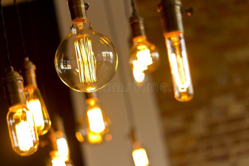 Ampoules antiques photographie stock