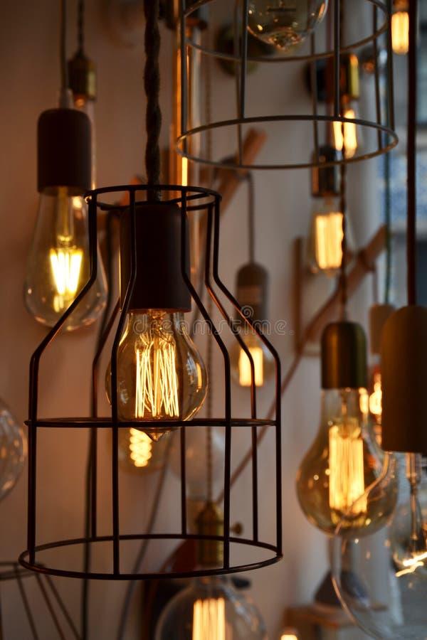 Ampoules Antiques D Coratives Photo Stock Image Du