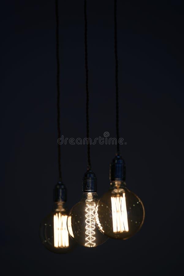 Ampoules de foudre photo stock