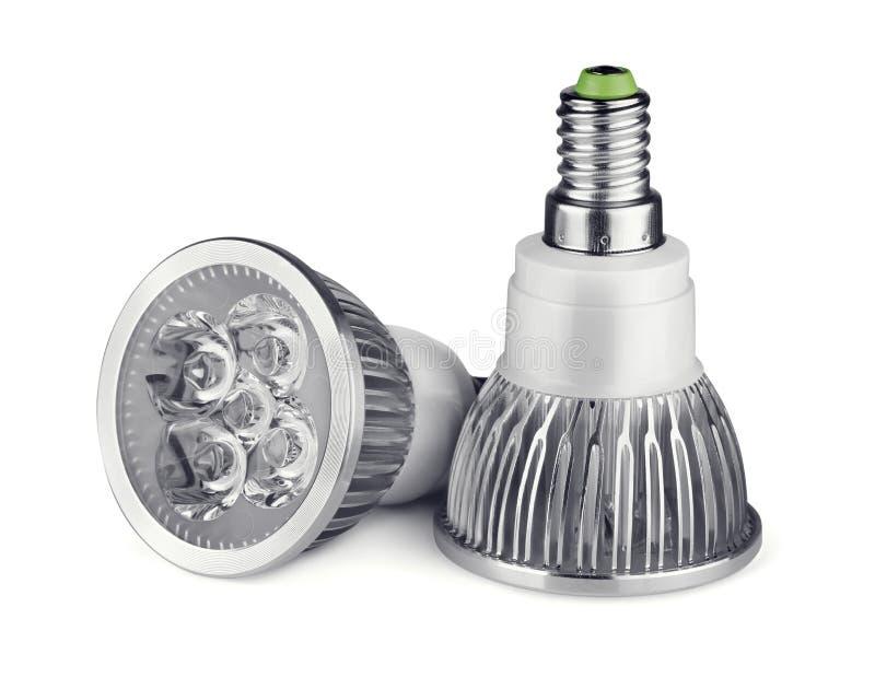 Ampoules de LED photographie stock