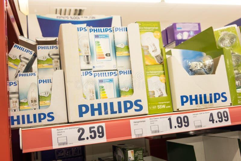Ampoules de Philips image libre de droits