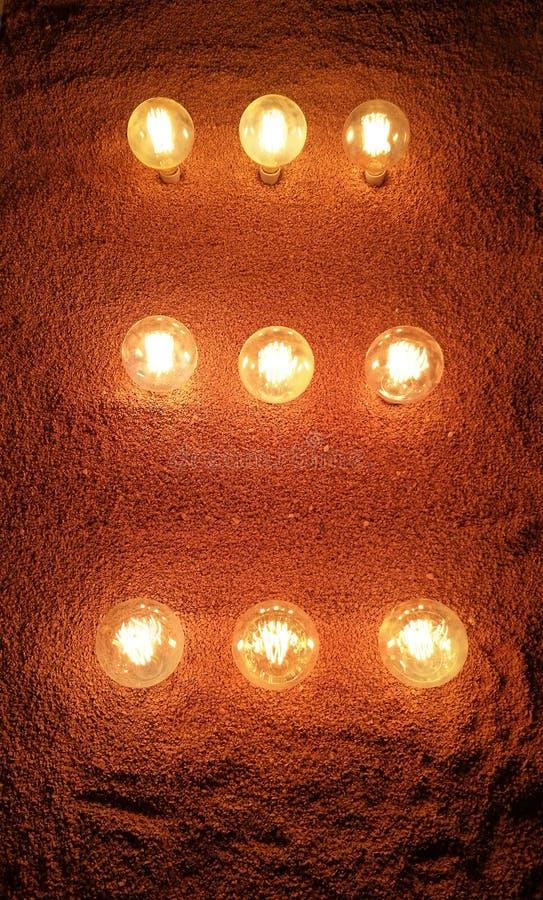 Ampoules sans fil photos stock