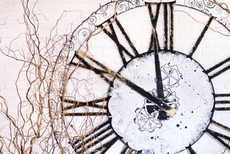 Ampuła zegar na ścianie fotografia royalty free