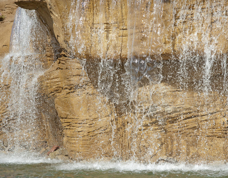 Ampuły Pełnometrażowa Ogrodowa Woda Fotografia Royalty Free