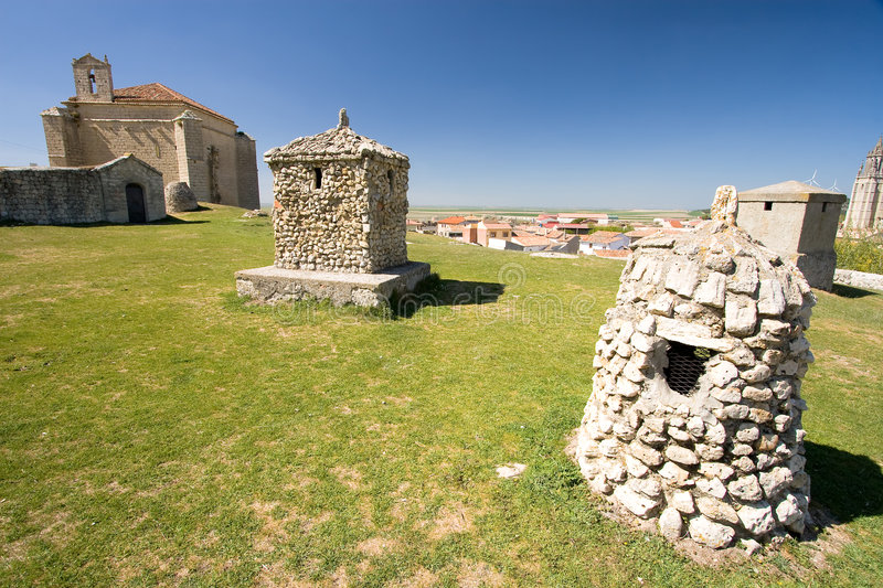 Download Ampudia, Palencia (Spain) Stock Photography - Image: 9209912