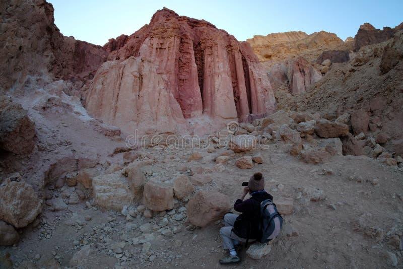 Amram Pillars vaggar bildande arkivfoton