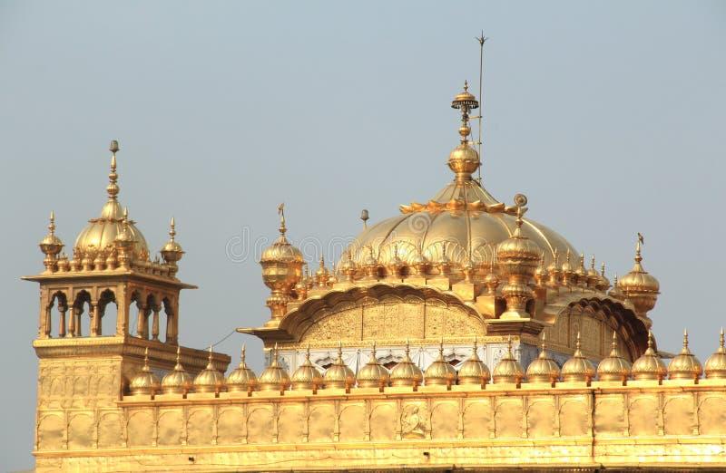 Amritsar Golden Temple. stock photo