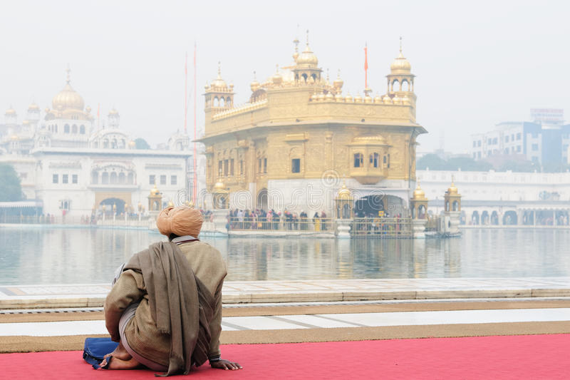 Amritsar, Golden Temple, India stock image