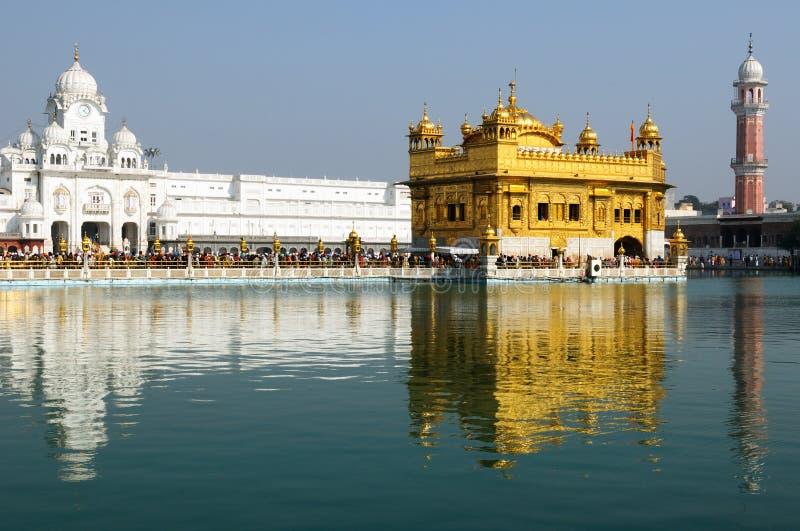 Amritsar, goldener Tempel, Indien lizenzfreies stockfoto