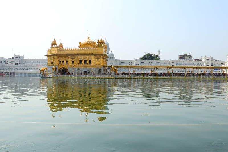 amritsar guld- tempel india royaltyfria bilder