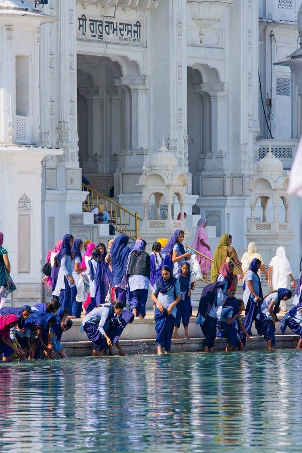 Amritsar, Indien stockfotos