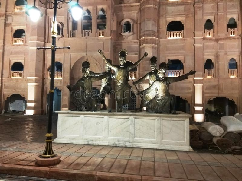 Amritsar Maharana Pratap immagine stock libera da diritti