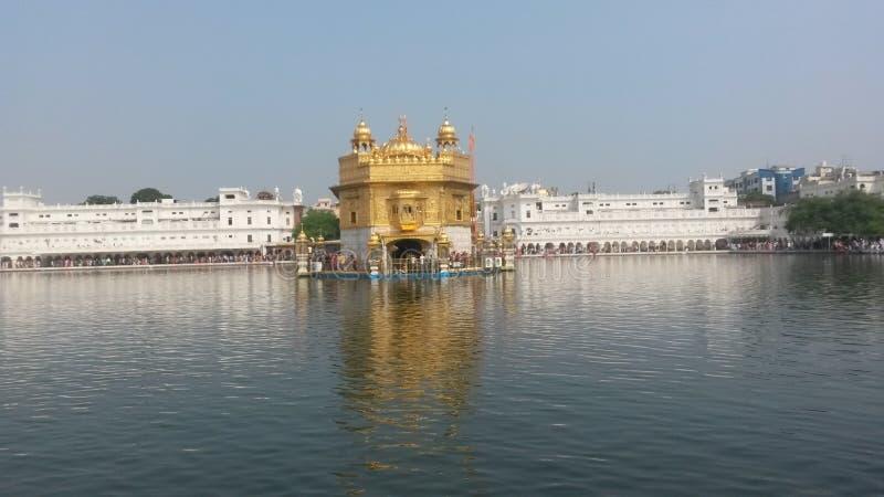 Amritsar golden temple stock image