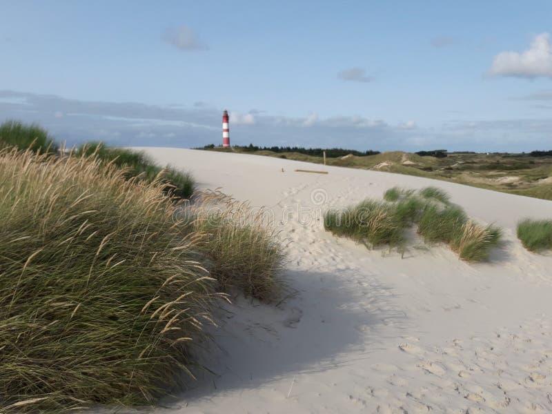 Amrum lighthouse stock image