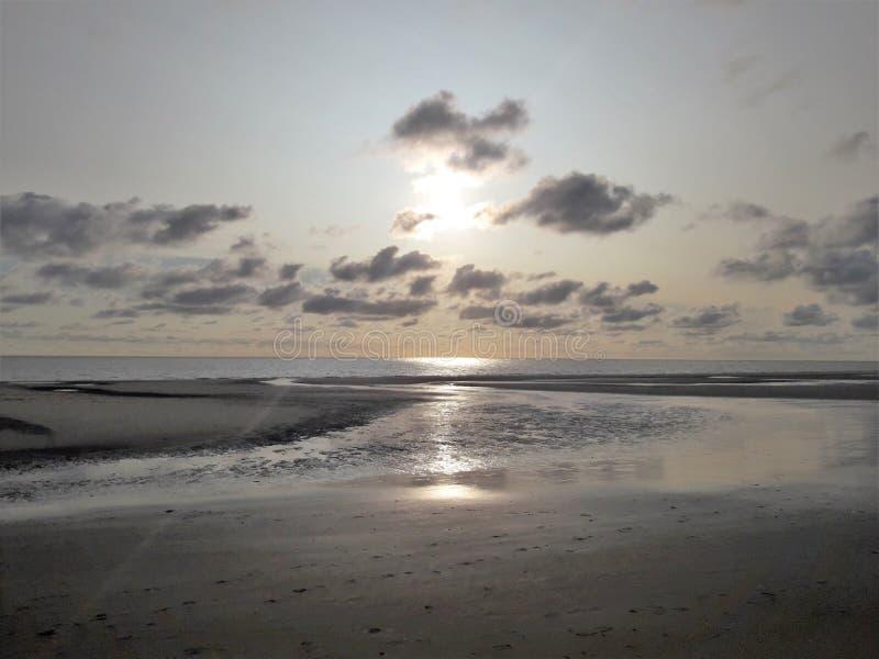 Amrum beach stock image
