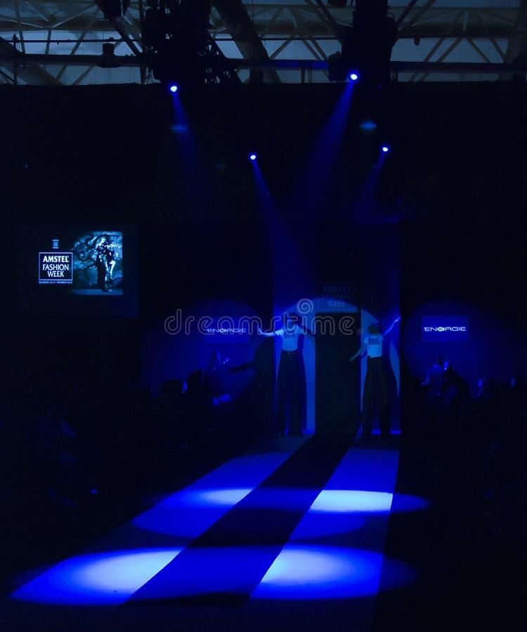 amstel Belgrade mody sceny tydzień obraz stock