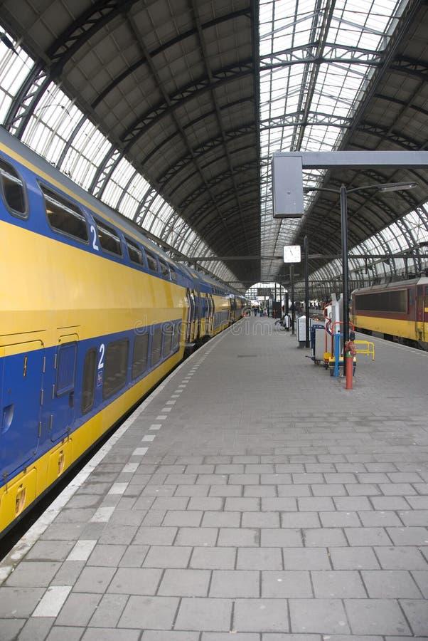 Amsterdão Centraal imagens de stock