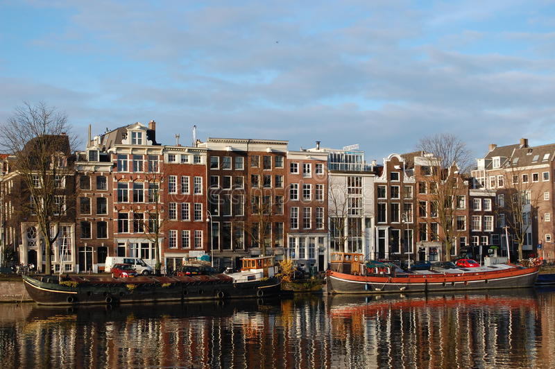 Amsterdão, Holland fotografia de stock