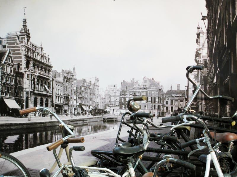 amsterdam старый стоковое изображение