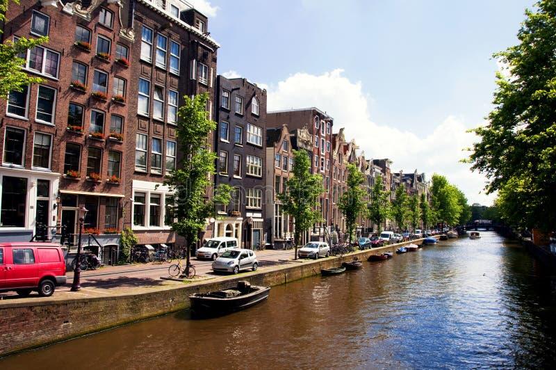 Amsterdam stock afbeelding