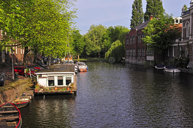 Download Amsterdam stock photo. Image of tree, boat, amsterdam - 19987804
